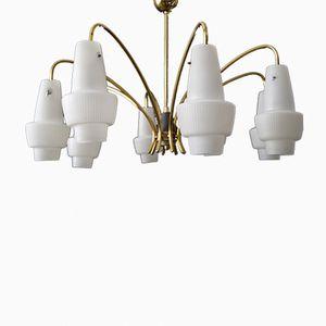 Lámpara de araña Mid-Century