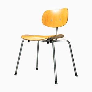 SE 68 Stuhl aus furnierter Eiche von Egon Eiermann für Wilde & Spieth, 1960er