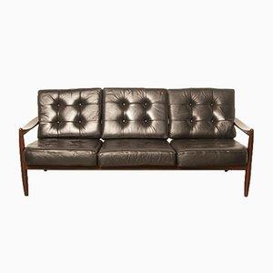 Dänische vintage Palisander Couch von Grete Jalk