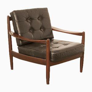 Vintage Danish Rosewood Armchair by Grete Jalk