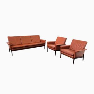 Model 218 Jupiter Living Room Set by Finn Juhl for France & Son, 1960s
