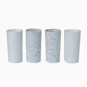 Vases à Fleurs S.Pot à Pois par Maddalena Selvini, Set de 4