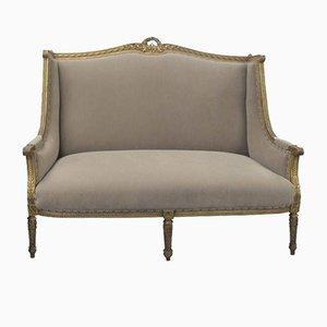 Antikes französisches Marquise Sofa