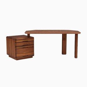 Modell B40 Schreibtisch von Pierre Chapo für Seltz, 1970er