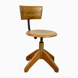 Giroflex Swivel Chair from Høng Stolefabrik, 1950s