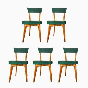 Swedish Dining Chairs, 1960s, Set of 5