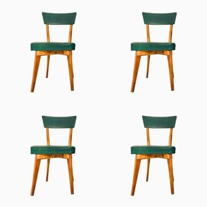 Swedish Dining Chairs, 1960s, set of 4