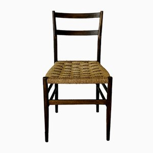 646 Leggera Dining Chair by Gio Ponti for Cassina, 1950s