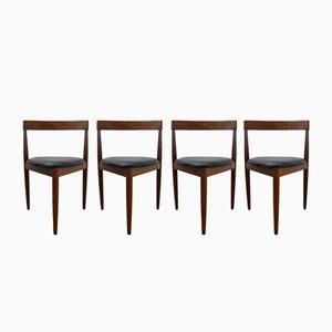 Compact Esszimmerstühle von Hans Olsen für Frem Røjle, 1950er, 4er Set