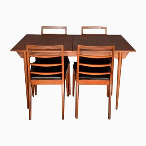 Mid-Century Teak Chairs & Extendable Table from McIntosh