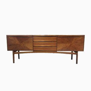 Sunburst Teak Sideboard from A.H. McIntosh, 1960s