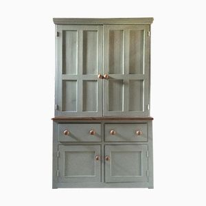 Antique Pine Victorian Housekeeper's Cabinet