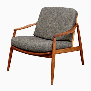 Mid-Century Model 400 Easy Chair by Hartmut Lohmeyer for Wilkhahn