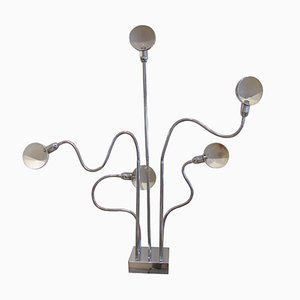 Vintage Hydra Floor Lamp by Pierre Folie for Carpentier