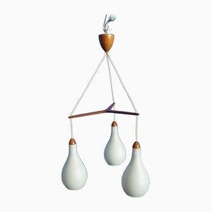 Pendant Lamp by Uno & Östen Kristiansson for Luxus, 1960s