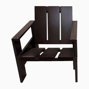 Chaise Junior Crate Vintage par Gerrit Thomas Rietveld pour Rietveld