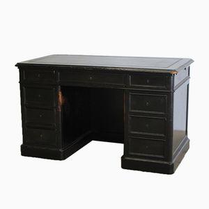 Antiker ebonisierter französischer Schreibtisch
