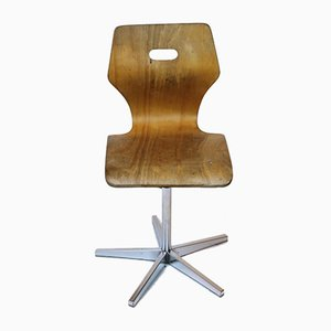 Height Adjustable School Chair from Embru, 1960s