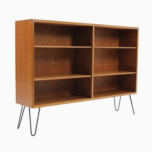 Danish Oak Bookcase by Borge Mogensen, 1960s