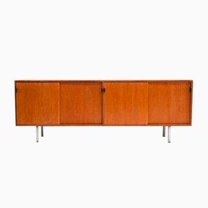 Teak Sideboard von Florence Knoll Bassett für Knoll International, 1950er