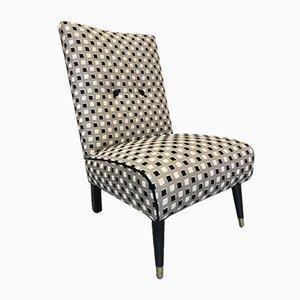 Vintage Slipper Chair, 1940s