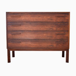 Mid-Century Teak Chest of Drawers by Kai Kristiansen for Feldballes