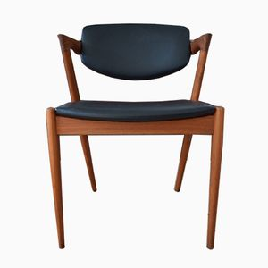 Mid-Century Model 42 Dining Chair by Kai Kristiansen for Schou Andersen