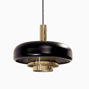 Skandinavische Deckenlampe von Jonas Hidle für Høvik Verk, 1960er