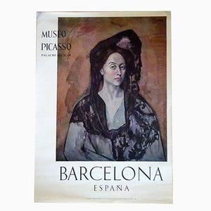 Póster de exhibición de Picasso, 1966