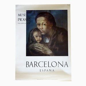 Póster de la exhibición Maternidad de Picasso, 1966