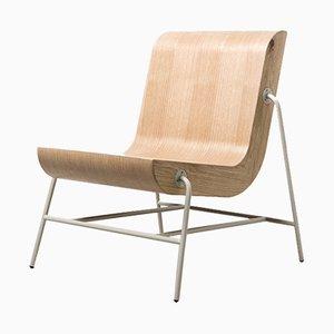 Metal Overlap Chair by Nadav Caspi