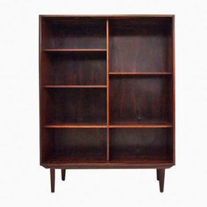Rosewood Bookcase by Poul Hundevad, 1970s