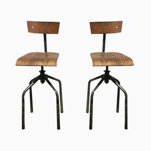 nachtk stchen 1950er 2er set bei pamono kaufen. Black Bedroom Furniture Sets. Home Design Ideas