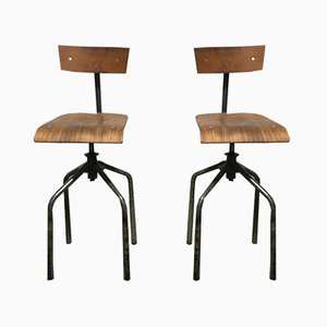 High Chairs, 1950s, Set of 2