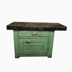 Tavolo da lavoro antico
