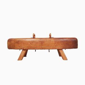 Czech Pommel Horse Bench, 1940s