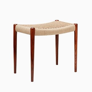 Danish Rosewood Model 80A Stool by Niels Otto Møller, 1959