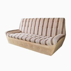 Gestreiftes vintage Sofa, 1970er