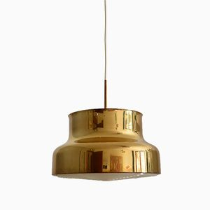 Vintage Bumling Brass Ceiling Lamp by Anders Pehrson for Ateljé Lyktan