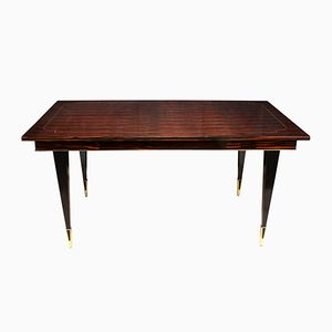 Macassar Ebony Dining Table, 1950s