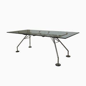 Nomos Dining Table by Sir Norman Foster for Tecno, 1987