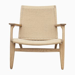 CH25 Lounge Chair by Hans J. Wegner for Carl Hansen, 1960s