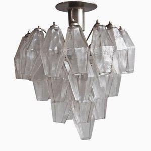 Poliedri Ceiling Lamp by Carlo Scarpa for Venini, 1956