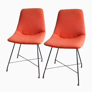 Aster Chairs by Augusto Bozzi for Fratelli Saporiti, 1959, Set of 2
