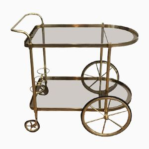 Neoclassical Brass Trolley, 1960s