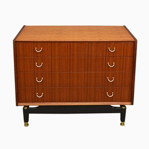Vintage Teak Veneer Chest of Drawers from G-Plan
