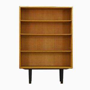 Vintage Ash Veneer Bookcase by Borge Mogensen for Søborg Møbelfabrik