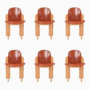 Vintage Dining Chairs by Silvio Coppola for Fratelli Montina, Set of 6