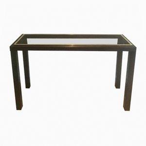 Table Basse en Bronze à Canon et Laiton par Guy Lefèvre, 1970s