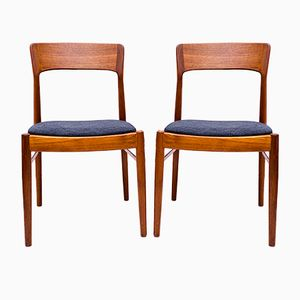Danish Teak Chairs from KS Møbler, 1960s, Set of 4